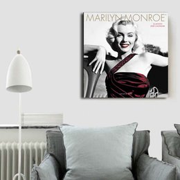 marilyn monroe canvas pictures NZ - Marilyn Monroe Canvas Painting POP Wall Art Street Poster HD Picture Print Decorative Living Room Home Decor