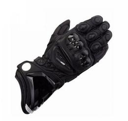 $enCountryForm.capitalKeyWord UK - New 3 Colors 100% Genuine Leather GP PRO Motorcycle Long Gloves MotoGP M1 Racing Driving GP PRO Motorbike Cowhide Gloves