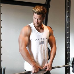 tight fashion vests Australia - Mens Designer T Shirt Mens Tight Sports Vest Designer Casual Short Sleeves Fashion High Quality Sports Vest 4 Colors