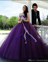 $enCountryForm.capitalKeyWord Australia - Plus Size Evening Dress Vestidos De Noche Largos Elegantes 2019 Sweetheart Heavy Beaded Empire Purple Tulle Ball Gown Prom Dress Long