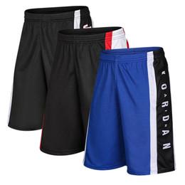 Yaz Basketbol Şort Erkekler Spor Diz Boyu Çabuk Kuru Nefes Nefes Spor GYM Kısa Pantolon Erkek indirimde