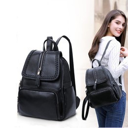 Matching Dress Bags Australia - Glitzy2019 Genuine Woman Package School The Wind All-match Ma'am Small Backpack Soft Leather Bag Quick Sell