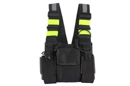 $enCountryForm.capitalKeyWord UK - Chest Harness Front Pack Pouch Holster Carry Case for Baofeng UV-5R UV-82 UV-9R UV-XR TYT TH-UV8000D MD-380 Walkie Talkie