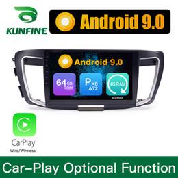 $enCountryForm.capitalKeyWord NZ - Android 9.0 Ram 4G Rom 64G PX6 Cortex A72 Car DVD GPS Multimedia Player Car Stereo For Honda Accord 2014-2017 2.0L Radio Headunit