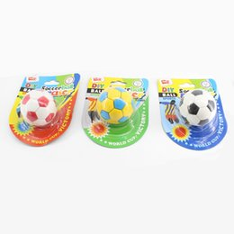 $enCountryForm.capitalKeyWord Australia - 2019 New Fashion Creative Rubber Cartoon K D Football Correction Tape Erasers For Children's Gifts School & Office Stationery