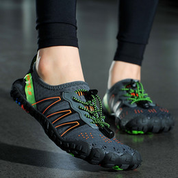 $enCountryForm.capitalKeyWord NZ - 2019 Unisex Quick Dry Minimalist Sneakers Men Ultra Light Barefoot Outdoor Beach Sandals Upstream Running Shoes River Sea Diving