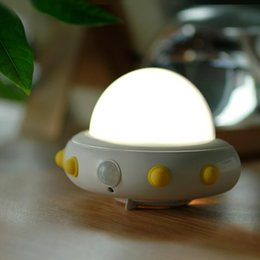 toys change shape 2019 - 36V Cute Gift Light Nightlight Inductive LED Toy Lamp Night Changing Shape Color Lamp Control Bedside Cartoon Table chea