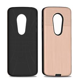 Shock Proof Phone Cases UK - For motorola moto E5 USA Hybrid Armor case selfie phone Case Shock-Proof Cases For motorola moto E5 PLAY E5 PLUS