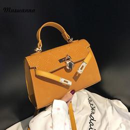 evening bags designer handbag 2019 - 2019 Luxury Simple Women Handbag Frosted Small Flap Bag Lock Candy Color Shoulder Messenger Bag Designer Evening Handbag