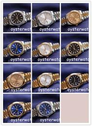 casual sapphire blue dress 2019 - christmas 41mm Mens Watch Sport Automatic Mechanical WristWatches Two Tone Gold Dial Designer Wristwatch Fashion Dress C