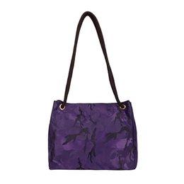 718800e08e95 Lady Camouflage Nylon Waterproof Handbag Outdoor Fashion Lady Causal  Shoulder Bag Girl Tote Handbags Women Crossbody Bags LJJT471