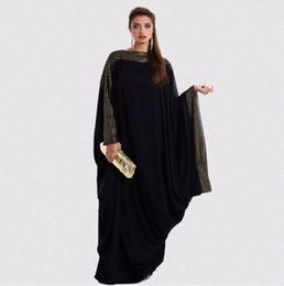 MusliM woMen clothing dubai online shopping - Cothes Muslim dress Abaya Muslim Women Kaftan Islamic Maxi Dress Long Sleeve Arab Jilbab Abaya Clothing black Muslimah abaya dubai dresses