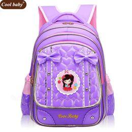 Cheap sChool girl online shopping - Cool Baby New School Bags for Girls Brand Children Backpack Cheap Shoulder Bag Fashion Kids Backpacks D271