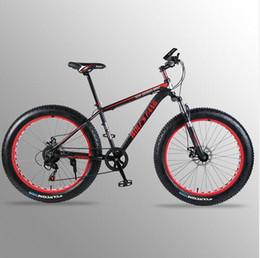 "Road Bicycle Disc Brakes Australia - Mountain bike Aluminum Bicycles 26 inches 7 21 24 speed 26x4.0"" Double disc brakes Fat bike road bike bicycle"