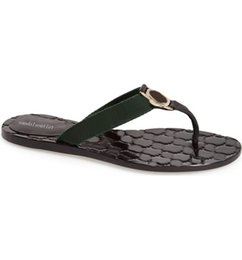 brown rubber flip flops UK - Pre-Fall 2018 mens and womens fashion web Leather thong sandals slippers boys girls causal flip flops