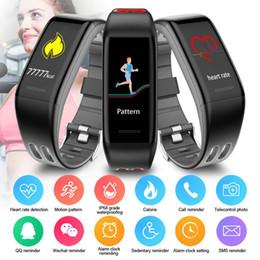 Fitbit цветной экран умные часы браслеты водонепроницаемый браслет Мониторинг сердечного ритма 6 спорт Новый 2019 Lastest Style T30
