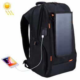 $enCountryForm.capitalKeyWord Australia - HAWEEL Outdoor Multi-function Solar Panel Power Breathable Casual Backpack Laptop Bag with Handle, External USB Charging Port