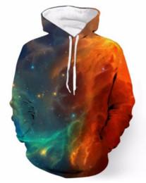 Wholesale womens galaxy hoodie for sale – custom New Fashion Cool Sweatshirt Hoodies D Print Mens Womens Casual Space Galaxy Fashion Hot Style Streetwear Long Sleeve Clothes RLMS0144
