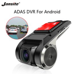 Discount tv motion sensor - Jansite USB DVR For Android Multimedia player with ADAS driving warming NO Rear camera G-sensor Cycle Recording Motion D