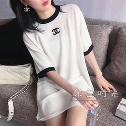 Wholesale shirts for women online – 2020 web celebrity short sleeved short T shirt for women in instagram style loose and comfortable street dancing