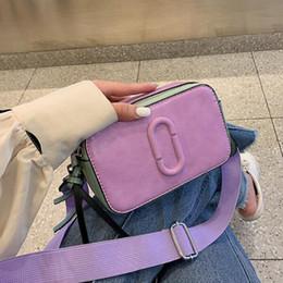 New treNdy ladies haNdbags online shopping - New Classic Small Flap Women s Bag With Canvas Strap Trendy Brand Design Leather Handbags Lady Messenger Bag For Female Bolsas SH190918