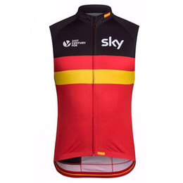 cycling jersey sky red Australia - 2019 team SKY Cycling Jersey Summer men MTB Bike Sleeveless vest Breathable Quick Dry racing Bicycle Clothes