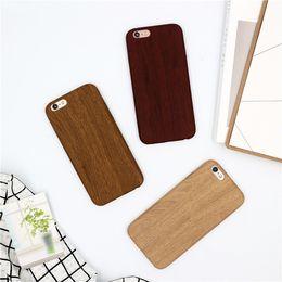 Iphone 6s Plus Case Clear Design Australia - Concise Style Literature And Art Wood Grain Personality Phone Case For iPhone X,Design Case Cover For iPhone 6 7 8 plus