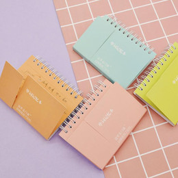 $enCountryForm.capitalKeyWord Australia - 1 Pcs Simple Mini Candy Color Spiral Words Book Learn Foreign Language Vocabulary Notebooks Study Remember Notepad Stationery