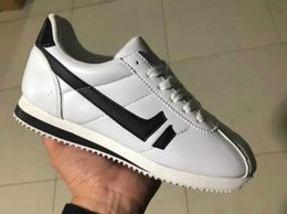 Men Leisure Shoes Price Australia - 2019 Low price new brands Casual Shoes men and women cortez shoes leisure Shells shoes Leather fashion outdoor Sneakers size 36-44