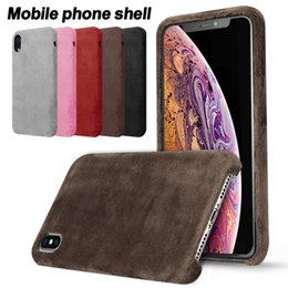 Protective covers warmer online shopping - Plush Case Fluff Fur Warm Phone Case Furry Protective Hard Back Cover Smooth Touch Shockproof for iPhone X Plus S with OPP Bag
