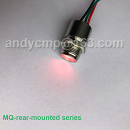 $enCountryForm.capitalKeyWord Australia - Metal IP67 rear panel mount LED indicators bi-color or tri-color Red Green yellow Eagle eye illuminated Signal Lamp Light