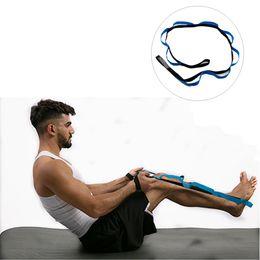 $enCountryForm.capitalKeyWord Australia - Men Women Yoga Stretch Strap D-Ring Belt Fitness Exercise Gym Rope Figure Waist Leg Resistance Fitness Bands 10 Flexible Loops