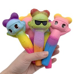 $enCountryForm.capitalKeyWord Australia - 15cm Squishy Student stationery pen Squishies Toys Kawaii Slow Rising Jumbo Squeeze Phone Charms Stress Reliever Kids adult Gift