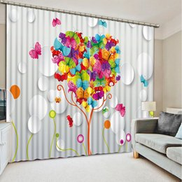 $enCountryForm.capitalKeyWord NZ - Luxury 3D Window Curtain living room Shower Hooks Balloon and door Curtains blackout Tapestry Custom size