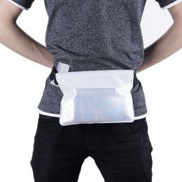 $enCountryForm.capitalKeyWord Australia - Universal Seal Type Waterproof Waist Bag Men Women Outdoor Swimming bag Beach Use Mobile Phone PVC Pouch Belt Bag free shipping #811386