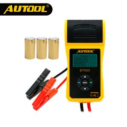 $enCountryForm.capitalKeyWord Australia - AUTOOL Car Battery Tester Analyzer With Printer 12V Digital Repair Workshop Auto Battery CCA Portable Diagnosis Tool Free Paper