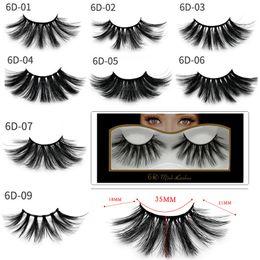 $enCountryForm.capitalKeyWord Australia - 25mm 3D Mink Eyelashes Fake Lashes Natural long Hair 6D 25mm Mink Eye lashes Eyelash Extensions Eyes Makeup False Eyelashes