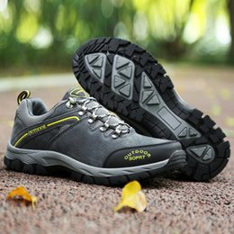 $enCountryForm.capitalKeyWord Australia - Baideng Camping Hiking Shoes for Men Breathable Mountain Climbing Shoes Outdoor Anti-Skid Sneakers Men Trekking Boot Big Size 49 #97236