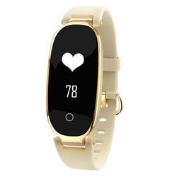 $enCountryForm.capitalKeyWord Australia - S3 Smart Band IP67 Waterproof Heart Rate Monitor Fitness Pedometer Remote Camera Bluetooth Bracelet for Women HOT SALE