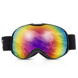 $enCountryForm.capitalKeyWord Australia - Anti-Fog Spherical Dual Lens Ski Goggles Winter Ski Snow Glasses Skiing Snowboard Eyewear Anti-Fog Protection For Children