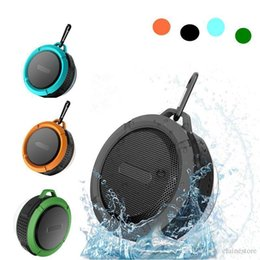 $enCountryForm.capitalKeyWord Australia - Speaker Bluetooth Speaker Mini Potable Wireless Audio Player Waterproof Speaker Hook And Suction Cup Stereo Music Player With Retail Box