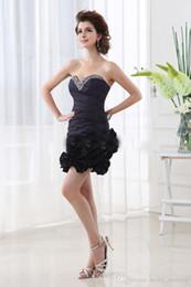 468a6931c55 Knee Length Dresses Plus Size Taffeta UK - Short Mini Taffeta Sheath  Cocktail Party Dresses 2018