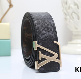 $enCountryForm.capitalKeyWord Australia - 2019 Design Belts Colored letters logo Men and Women Fashion Belt Women Leather Belt Gold Silver and Black Buckle q1