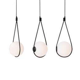 Light suspensions gLass online shopping - Nordic glass ball lampshade pendant light for bedside drop lamp dinning table hanglamp Italy designer light suspension luminaire