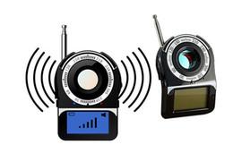 lens finder wireless camera detector 2019 - New CC309 Full Band Signal Bug RF Camera Detector 1.6'' Screen Camera Laser Lens Finder Portable Wireless Dete