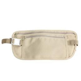 travel passport pouch wholesale 2019 - Travel Security Money Ticket Passport Holder Waist Belt Pouch Bag Belt Chest Bag Security Waistpacks Party Favor CCA1104