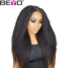$enCountryForm.capitalKeyWord Australia - Raw Virgin Indian Hair 360 Lace Frontal Wig Pre Plucked With Baby Hair Kinky Straight Human Hair Wigs Full End Remy 150% Beyo