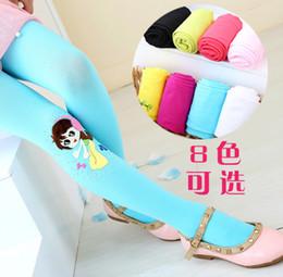 Culottes Leggings Australia - Girl slim tights, culottes spring children's ballet dance socks Princess dance girls bottoming pantyhose velvet cotton pants size S-XL
