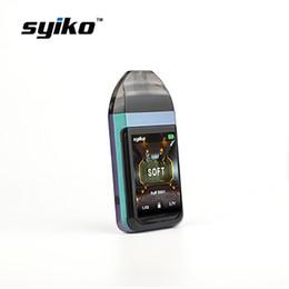 $enCountryForm.capitalKeyWord Australia - Syiko SE touch screen Pod vape pen MTL Pod starter Kit built-in 650mAh battery mesh cotton coil Ecig pod system kits