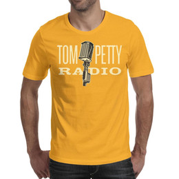 $enCountryForm.capitalKeyWord Australia - Tom petty RADIO Mens T Shirt Fit Travel Cotton Crew Neck Shirts Man Funny T Shirt Vintage T Shirts for Man